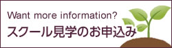 What more information? お問い合わせ