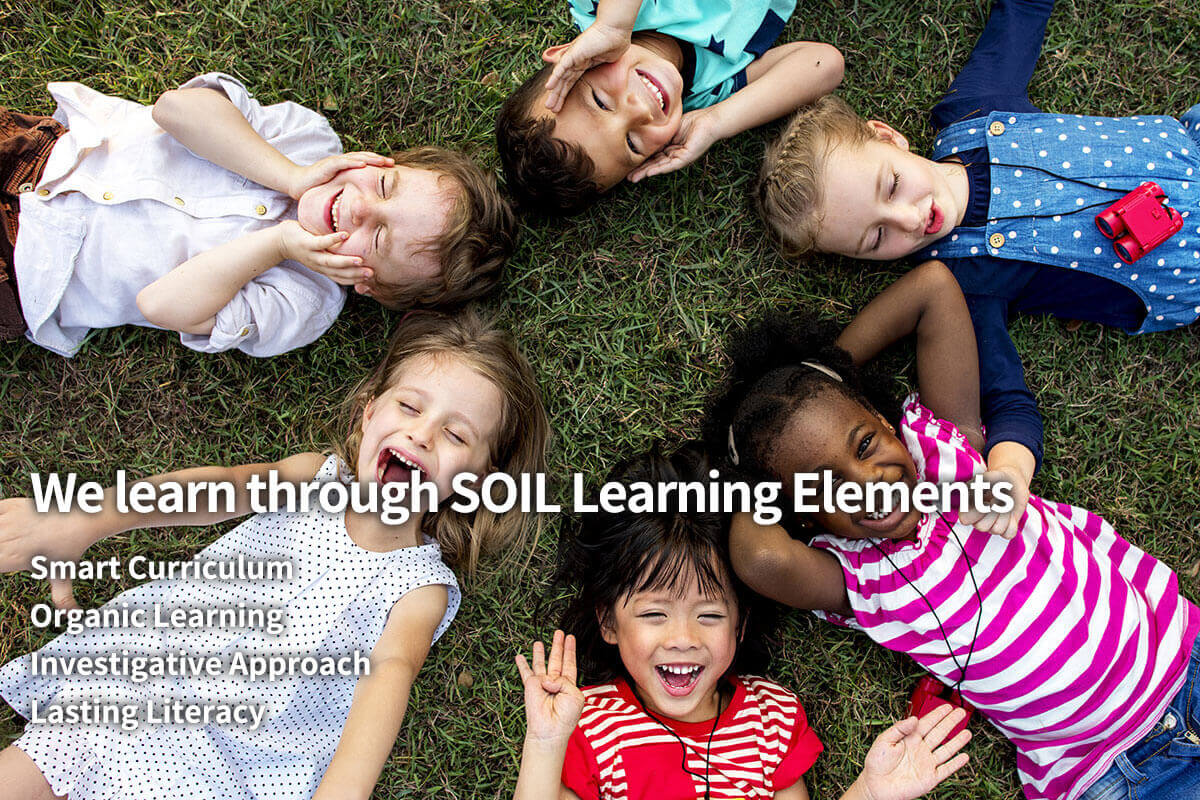 We learn through SOIL Learning Elements